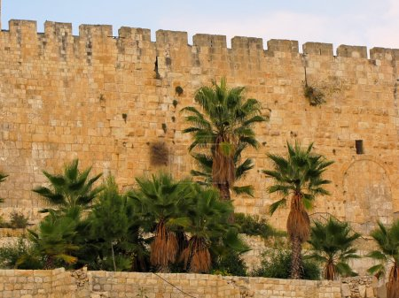 Jerusalem, the old city walls