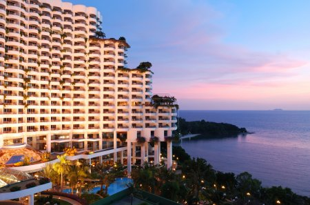 Five stars hotel in tropic