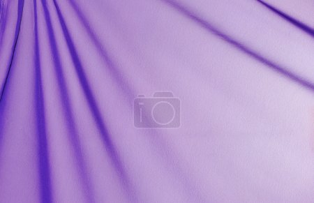 Photo for Beautiful folded violet silk background - Royalty Free Image
