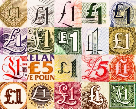 Pound symbols from all over the world