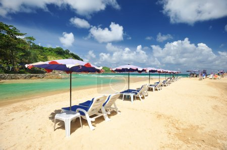 Photo for Beautiful beach landscape in Thailand - Royalty Free Image
