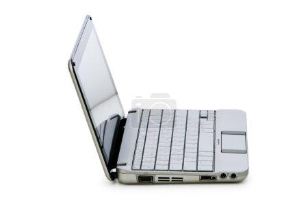 Stylish netbook isolated on the white
