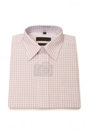 Striped shirt isolated on the white
