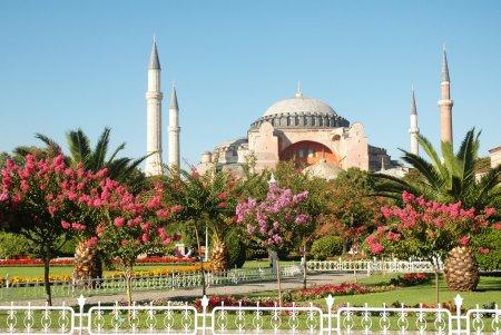 Four minaret mosque in Istanbul