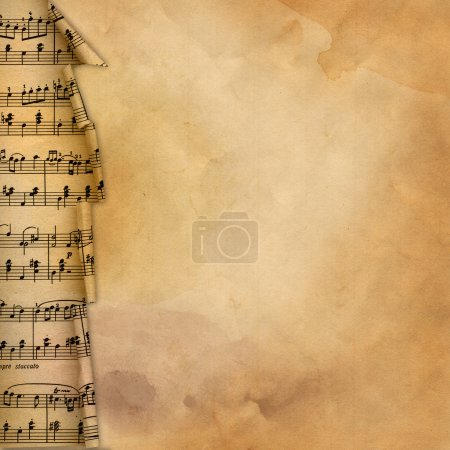 Photo for Old retro grunge musical background for desing - Royalty Free Image