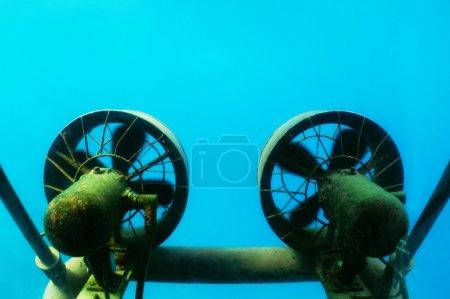Hélices de sous-marins