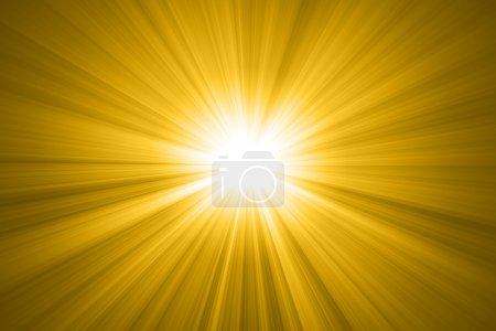 Photo for Abstract sun with rays, sun - Royalty Free Image