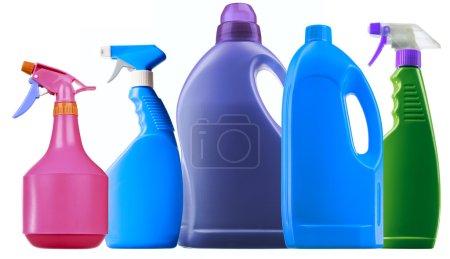 Detergent spray bottle