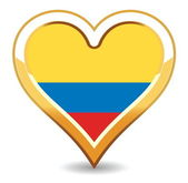 Heart Colombia Flag