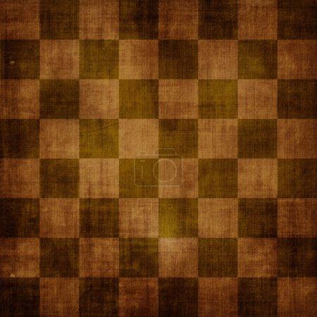 Vintage shabby chessboard