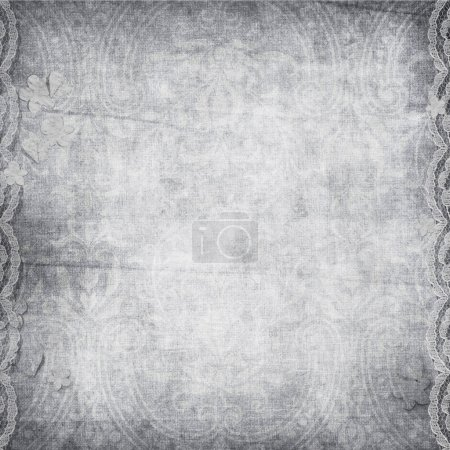 Vintage background with lace