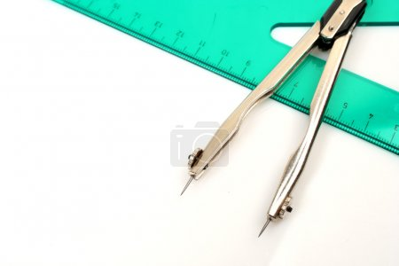 Compasses and ruler