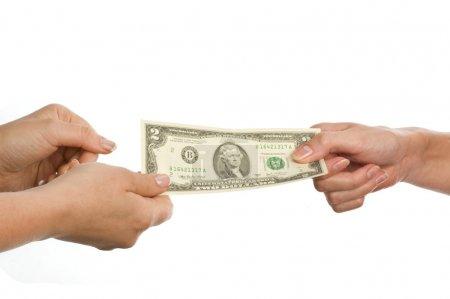 Money in hand...