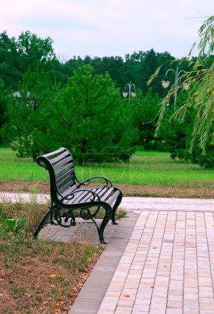 Park bench Alley Romance