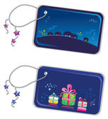 Chtistmas New year trinket tags
