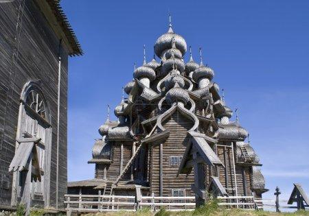 Karelia. Kizhi. Preobrazhenskiy church