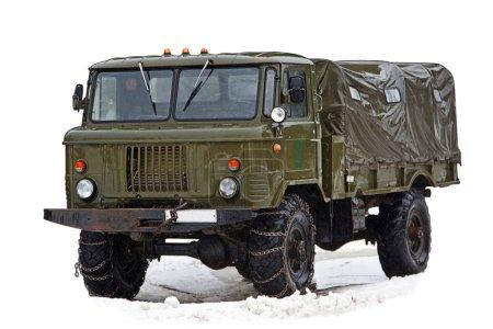 Vintage soviet truck