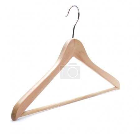 Photo for Isolated plastic hanger - Royalty Free Image