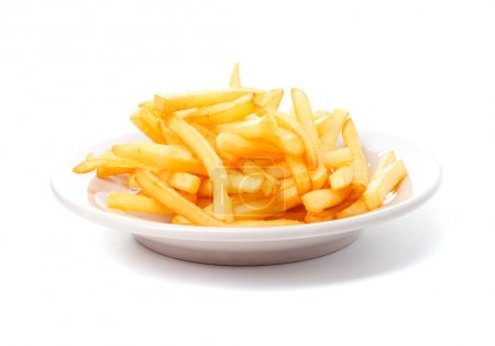 Photo pour Fries français - image libre de droit