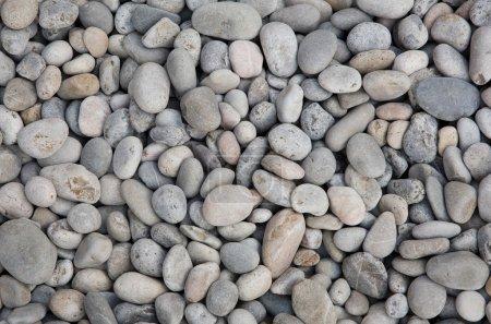 Photo pour Rivière gris roche à texture fond. - image libre de droit