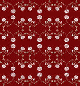 Seamless texture with roses