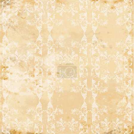 Illustration for Vintage seamless texture - Royalty Free Image
