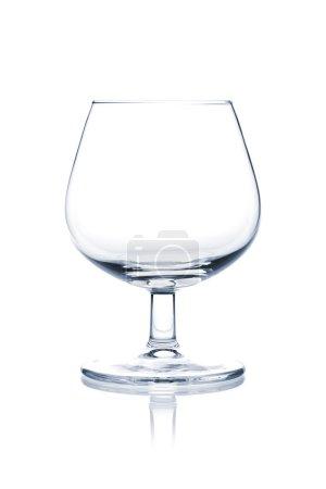 Photo pour Collection Cocktail Glass - Ballon de cognac. Isolé sur fond blanc - image libre de droit