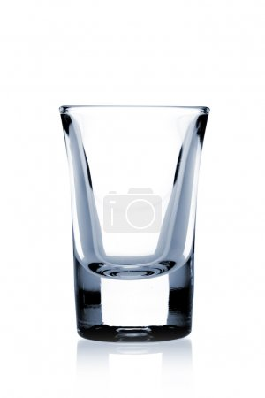 Photo for Cocktail Glass Collection - Small Shot. Isolated on white background - Royalty Free Image