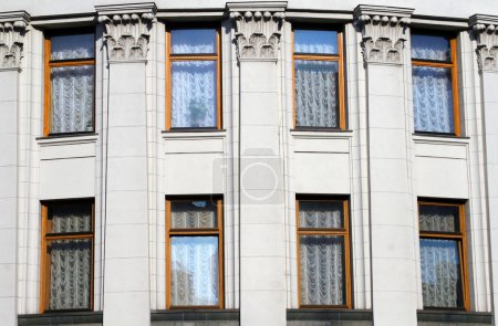 Historical building windows...