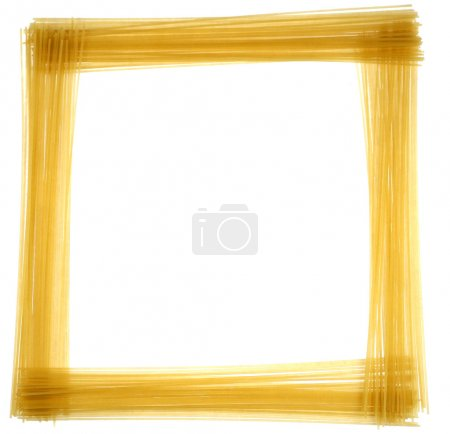 Abstract frame of spaghetti