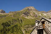 Rebbio mount in the italian Alps