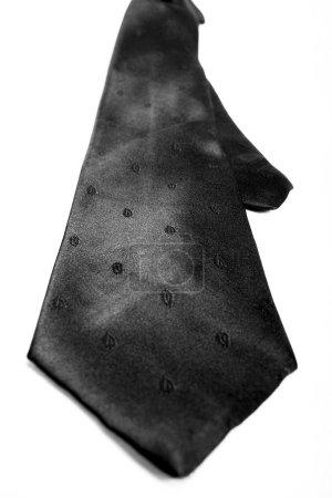 Black classic tie