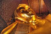Buddha Statue in a Bangkok Temple, Thail