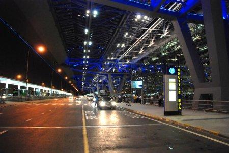 Bangkok Airport at Night, August 2007