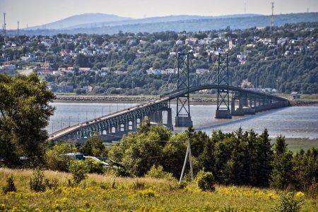 Bridge near Quebec, Canada