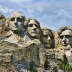 Detail of Mount Rushmore, South Dakota, August 200...