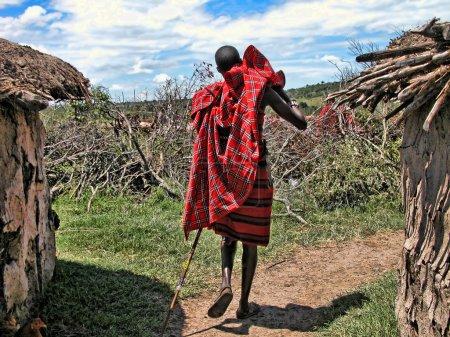Photo pour Détail Kenya, Afrique au printemps 2005 - image libre de droit