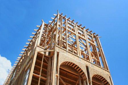 Framed Construction House