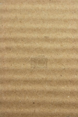 Photo for Brown corrugated cardboard background - Royalty Free Image