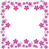Pink flowers foliage 2
