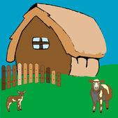 Obec dům