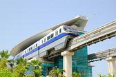 The Palm Jumeirah monorail train