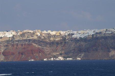 Aegean sea Santorini island