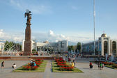 The main square of capital