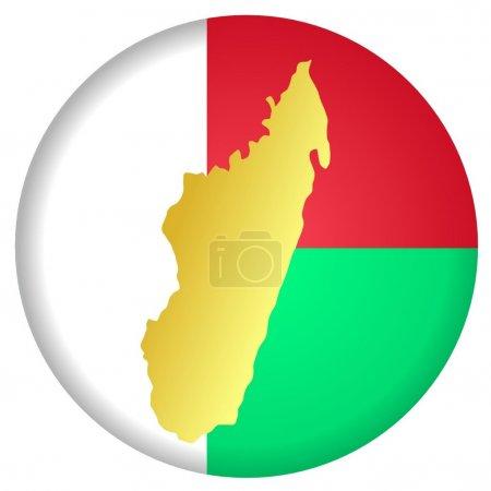 Кнопка Мадагаскар