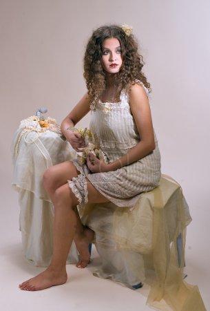Exquisite lady in boudoir (5)
