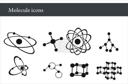 Illustration for Molecule - Royalty Free Image