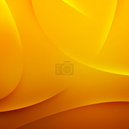 Photo for Abstract yellow waves background - Royalty Free Image