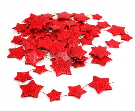 Star-shaped garland