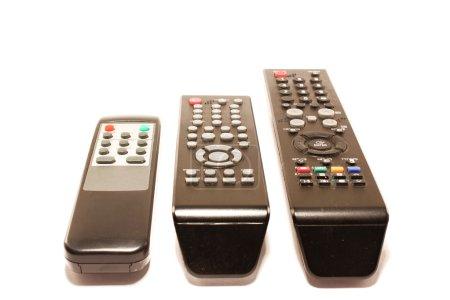Photo pour Les télécommandes, isolées sur fond blanc - image libre de droit
